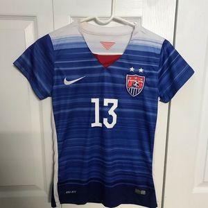Alex Morgan Team USA Nike jersey